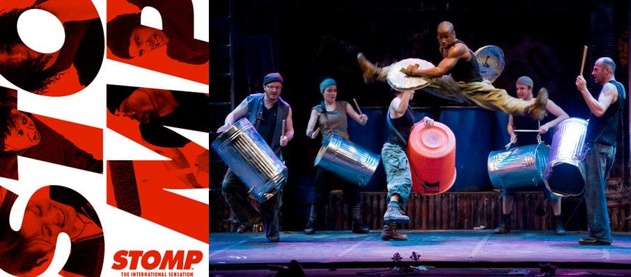 Stomp at Abraham Chavez Theatre