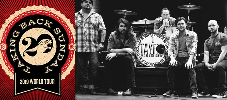 Taking Back Sunday at Tricky Falls Theater