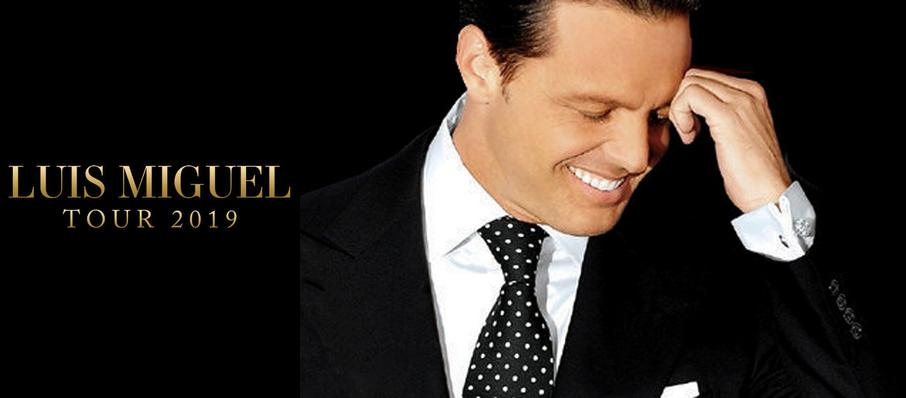 Luis Miguel at Don Haskins Center