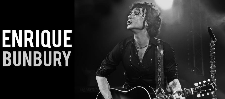 Enrique Bunbury at Plaza Theatre