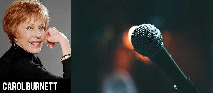 Carol Burnett at Plaza Theatre