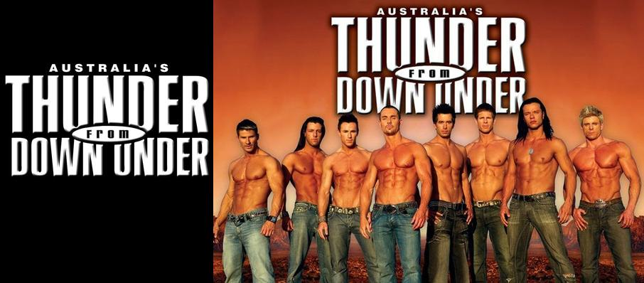 Thunder From Down Under at Abraham Chavez Theatre