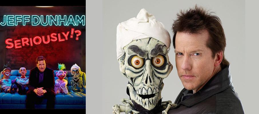Jeff Dunham at Plaza Theatre