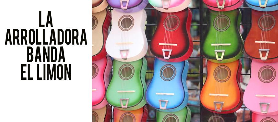 LA Arrolladora Banda El Limon at Plaza Theatre