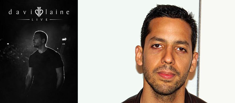 David Blaine at Plaza Theatre
