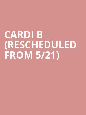 Cardi B (Rescheduled from 5/21) at El Paso County Coliseum