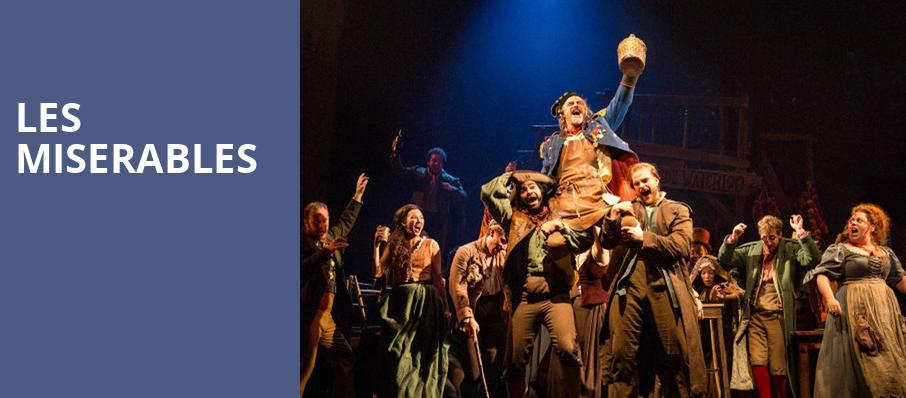Les Miserables, Plaza Theatre, El Paso