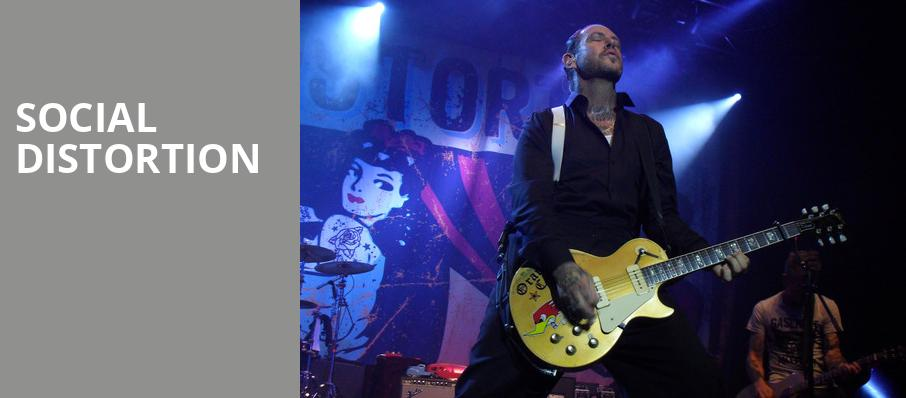 Social Distortion, Tricky Falls Theater, El Paso