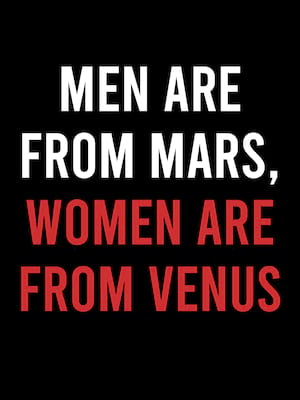 Men Are From Mars, Women Are From Venus Poster